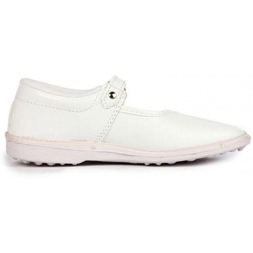 Liberty Girls Slip on Formal Boots(White)