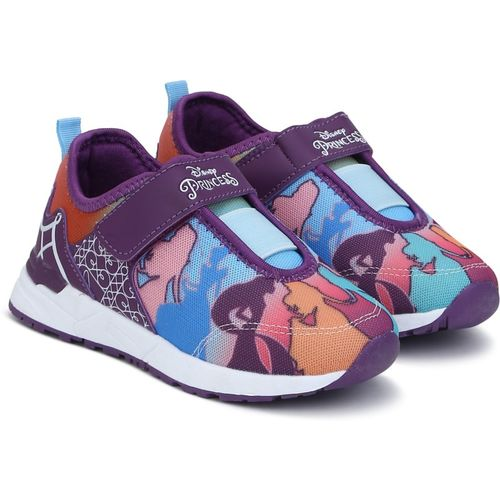 Disney Princess Girls Velcro Running Shoes(Multicolor)