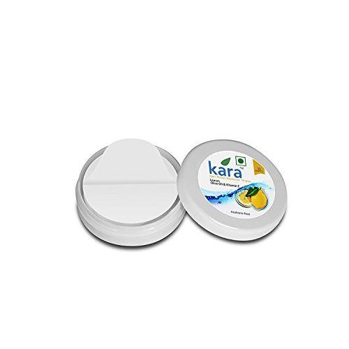 Kara Wipes Nail Polish Remover With Vitamin Removes Nail Polish, Lemon (30 Pulls) x (Pack Of 2)