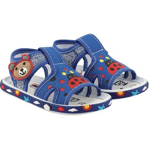 Rex Boys & Girls Velcro Flats(Blue)