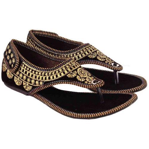 Sanaya Girls Slip-on Flats(Black)