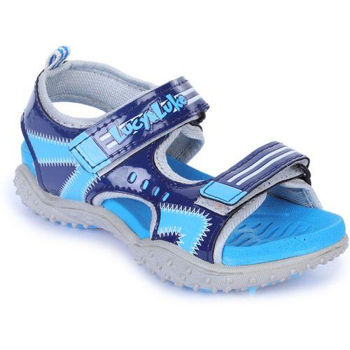 Liberty Boys & Girls Velcro Thong Sandals(Blue)