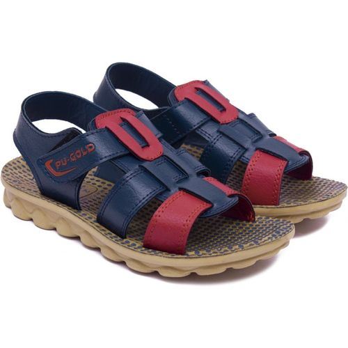 Asian Boys & Girls Velcro Sports Sandals(Blue)