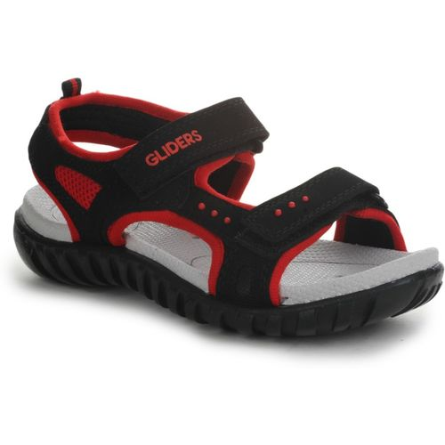 Gliders by Liberty Boys & Girls Velcro Sports Sandals(Red)