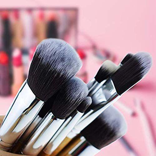 Kylie Foundation Brush Make Up Brushes - 11pcs Natural Bamboo Professional Makeup Brushes Set Foundation Blending Brush Tool Cosmetic Kits Makeup Set Brusher -