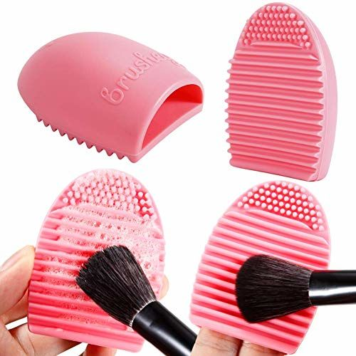 MISS & MAM Makeup Set with Brush Organizer Beauty Blender, Sponge and Brush Cleaner BLACK (24 Pieces)