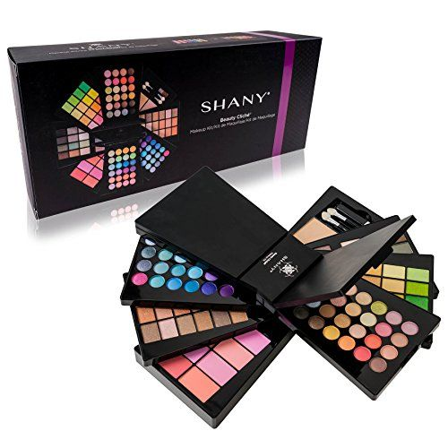 SHANY Cosmetics Beauty Cliche All in One Makeup Palette Set with Eyeshadows Face Powders and Blushes