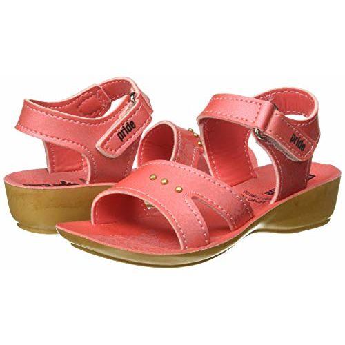 VKC Pride Girl's Pink Outdoor Sandals-8 UK (26 EU) (9.5 Kids US) (2000529608PNK)
