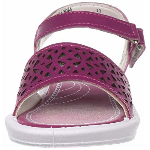 Bubblegummers Girl's Laser Princes Sandal Red Fashion 1 (3615084)