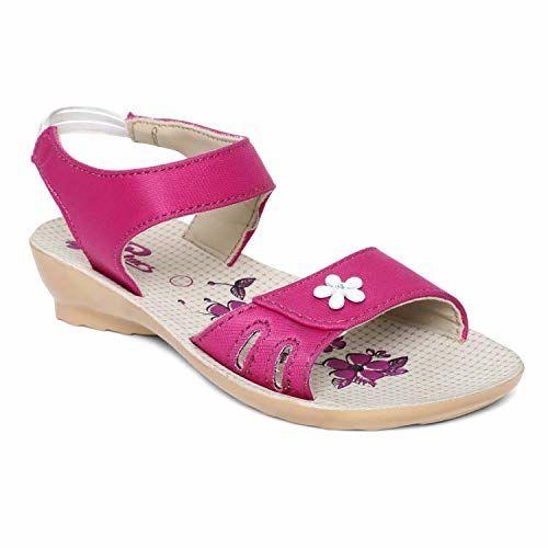 PARAGON Kids Pink P-Toes Casual Sandal