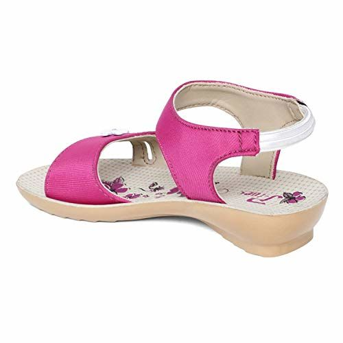 PARAGON Kids Pink P-Toes Casual Sandal