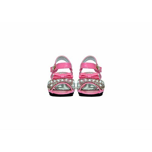 Unknown P.A.L.R by Rose Girls Fashion Sandals (30 EU (11.5C UK), Pink)