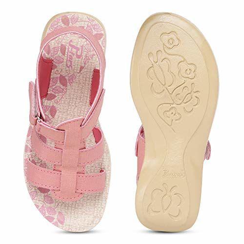 PARAGON_SHOES Women's Pink Outdoor Sandals-2 UK (34.5 EU) (PU0671RP-Pink)