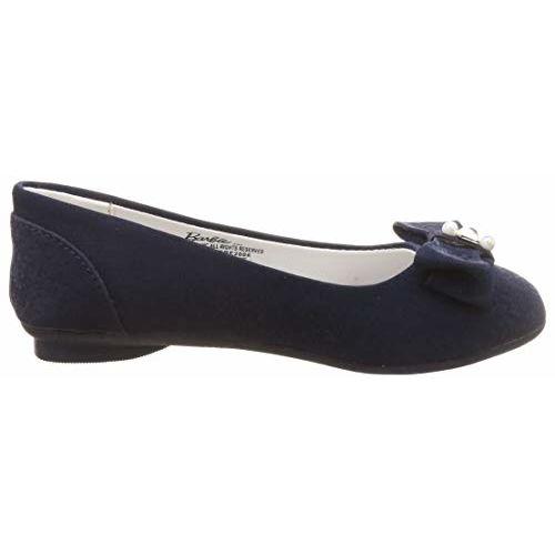 Barbie Girl's Navy Ballet Flats-11 UK (30 EU) (12 Kids US) (BBPGBE2006_Blue)