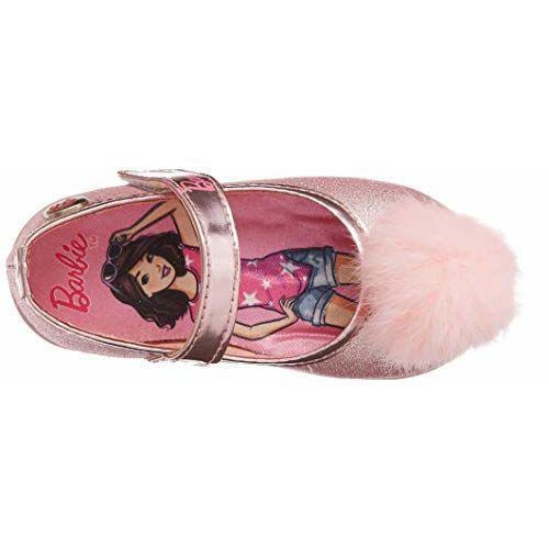Barbie Girl's Pink Ballet Flats-5 Kids UK/India (22 EU) (BBPGBE1182)