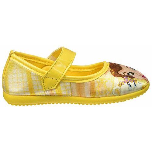 Disney Girl's Yellow Ballet Flats-8 Kids UK/India (26 EU) (DPPGBE1061)