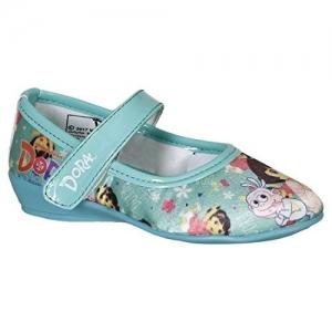 DORA by Kidsville Sky Blue Girl's Ballerina Ballet Flats- 3.5 Kids UK (26 EU) (DO0FBL734)