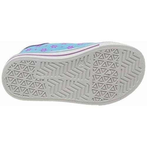 Frozen Girl's Sneakers- 7 UK (24 EU) (8 Kids US) (FZPGCS2102_Blue/Purple)