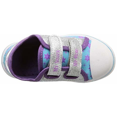 Frozen Girl's Sneakers- 7 UK (24 EU) (8 Kids US) (FZPGCS2102_Blue/Purple)