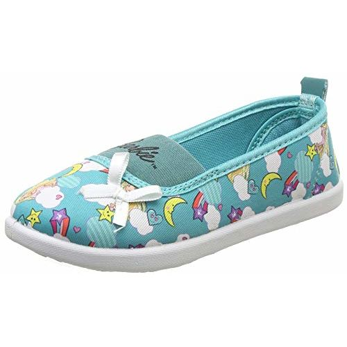 Barbie Girl's Sea Green Sneakers- 1 UK/India (33 EU) (BBPGCS1145)