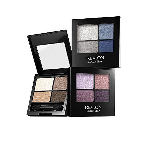 REVLON Colorstay 16 Hour Eye Shadow Quad, Addictive, 0.16 Ounce