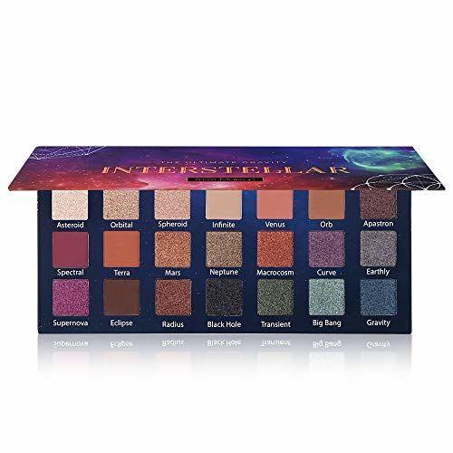 Prism Makeup 21 Colors Pigmented Eyeshadow Palette 6 Matte + 15 Shimmer Blendable Long Lasting Eye Shadow Palette Natural Colors Neutral Pigment Shadow Shimmers