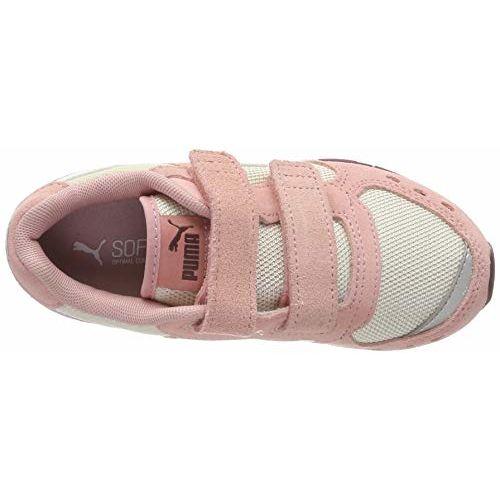Puma Unisex Kid's Vista V PS Bridal Rose White-Pastel Pink Sneakers-10 UK (28 EU) (11 US) (36954007)