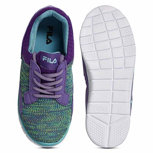 Fila Unisex Kid's Recber Gpe Juc/Nile Blue Sneakers-5 UK (21 EU) (5.5 US) (11006981)