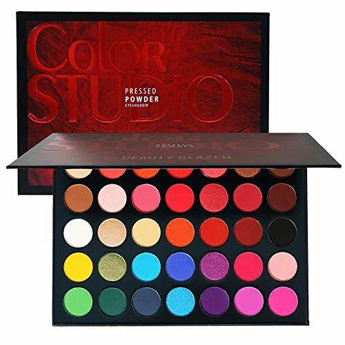 Beauty Glazed Makeup Eyeshadow Palette 35 Colors Eye Shadow Powder Make Up Waterproof Cosmetics