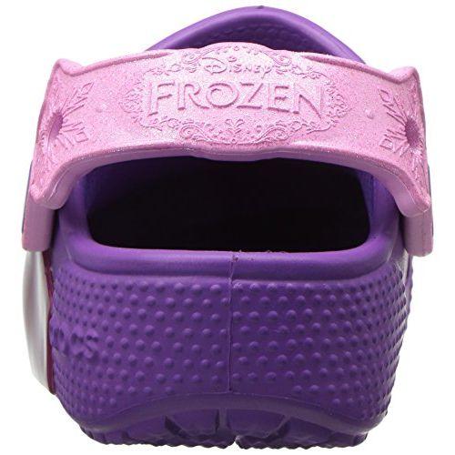 Crocs Kids' Crocsfunlab Lights Frozen Clog