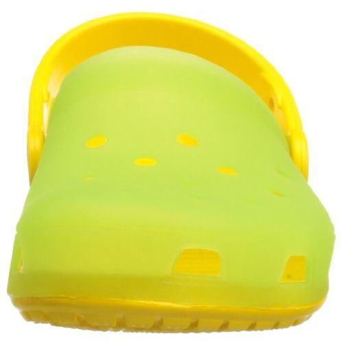 Crocs Chameleons Translucent Mule (Toddler/Little Kid),LimeGreen/Yellow,8-9 M US Toddler
