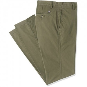 US Polo Assn. Men's Chino Casual Trousers (8907538213860_USTR6562_34W x 33L_Olive)