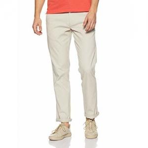Wrangler Men's Chino Casual Trousers (W28138W22270_Dry Sand_38W x 34L)