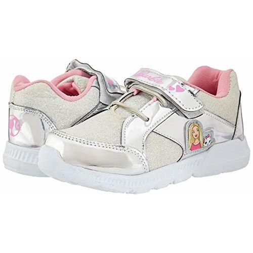 Barbie Girl's Silver Sports Shoes-12 Kids UK/India (31 EU) (BBPGSP1156)