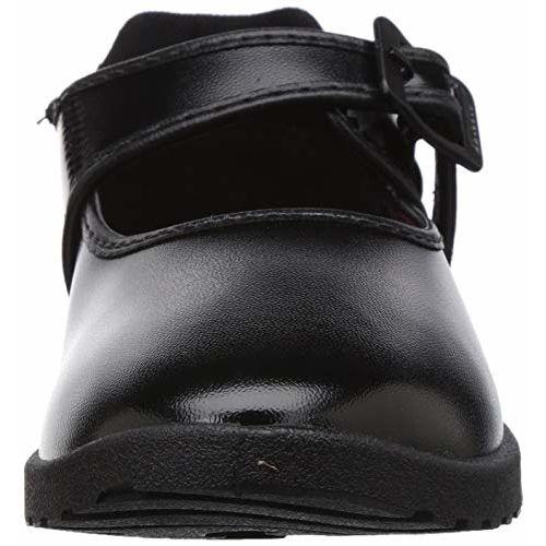 BATA Girl's Nova Ballerina Black School Shoes-13 (3116289)