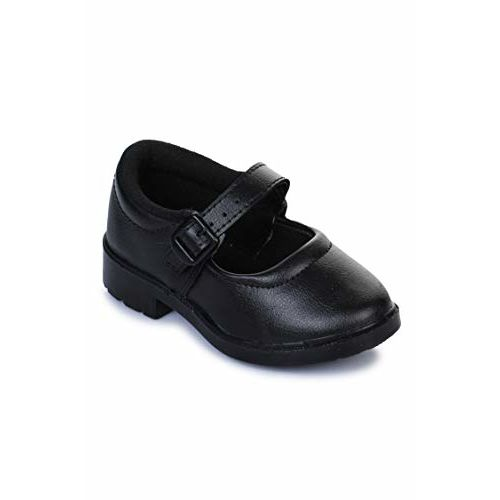 Liberty Prefect SKOOLGRLPU Kids School Ballet Flats Black