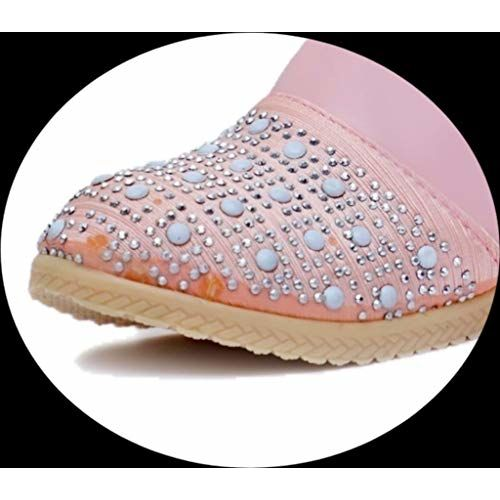 Fashion shoes Baby Pink Leather Long Shoes -4.5-5 Years