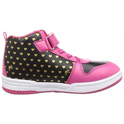 Barbie Girl's Pink/Black Boots- 1 UK/India (33 EU) (BBPGSP0040)