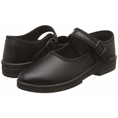 Campus Girl's S-TIME Blk Formal Shoes- 3 UK/India (36 EU) (CS-A2)