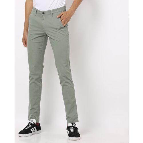 JOHN PLAYERS Skinny Flat-Front Trousers