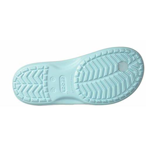 crocs Girl's Ice Blue Flip-Flops-10 UK (27.5 EU) (10 Kids US) (206428-4O9)