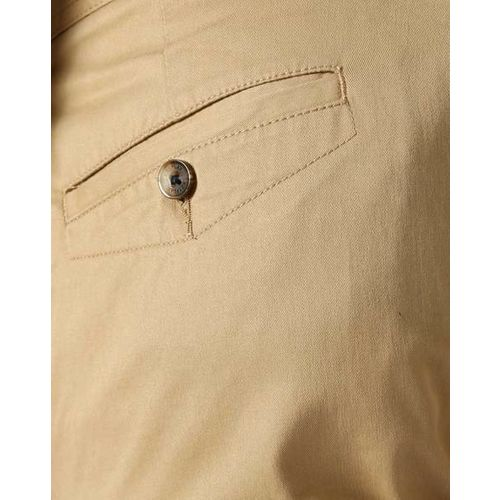 NETPLAY Flat-Front Slim Fit Chinos