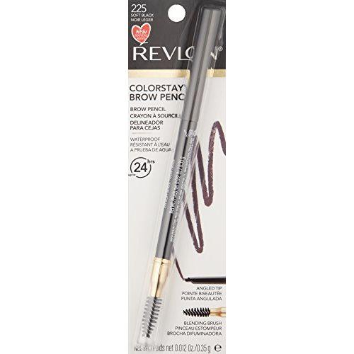 Revlon ColorStay Brow Pencil, Soft Black