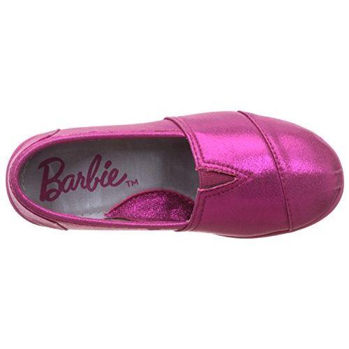Barbie Girl's Fuschia Espadrille Flats - 3 UK/India (35 EU)