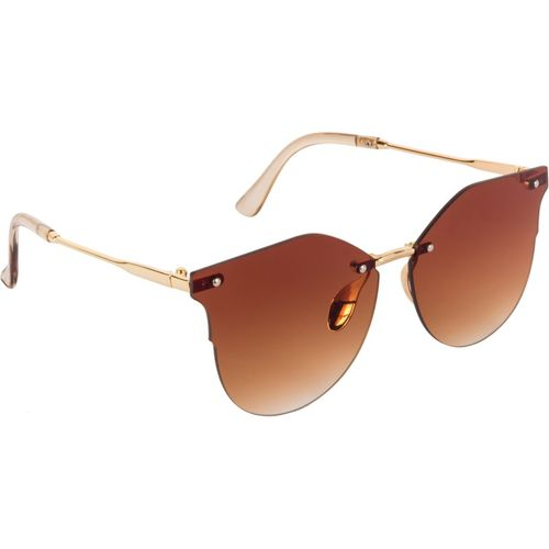 Aislin Cat-eye Sunglasses(Brown)