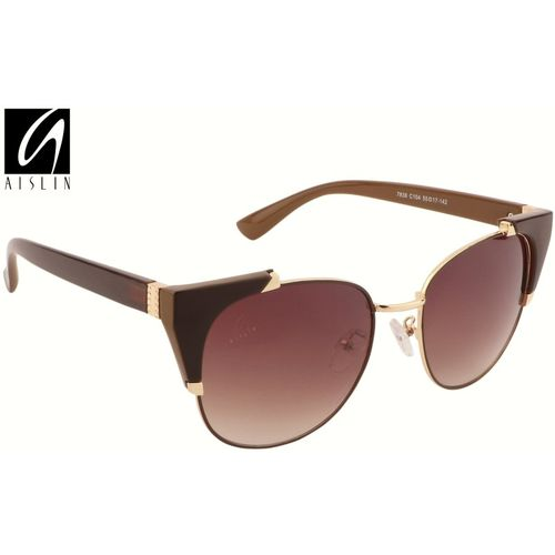 Aislin Cat-eye Sunglasses(Brown)