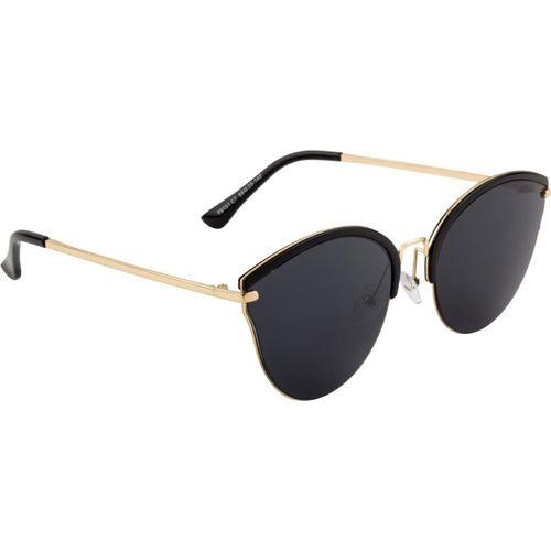 Farenheit Cat-eye Sunglasses(Black)