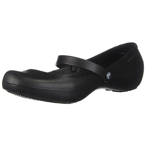 Crocs Black Alice Work Ballet Flats