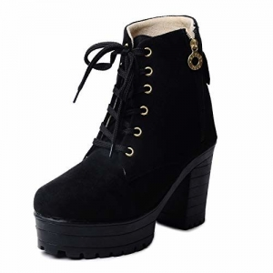 Klaur Melbourne Women Black Boots 555