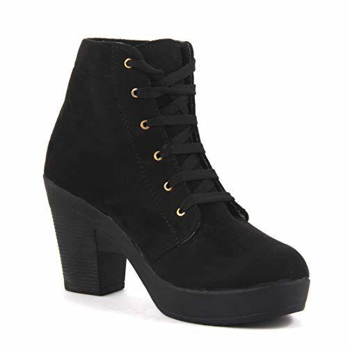 ABJ Fashion HIGH Heel Boot for Women Black
